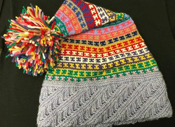 Large Warm Ears Hat, Jelly Belly