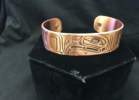 Copper Bracelet, Eagle