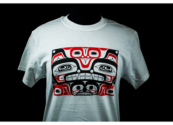 Wolf Box White T-Shirts