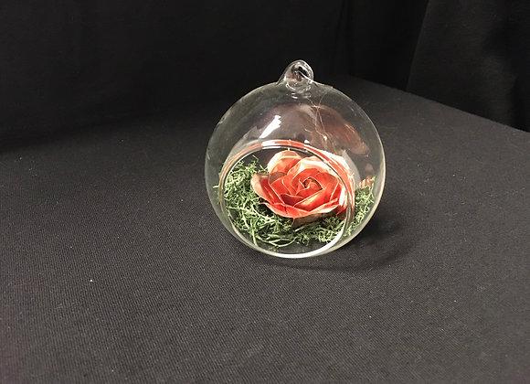 Copper Rose Ornament