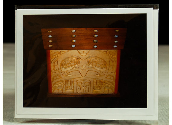 Raven Bentwood Box Art Cards