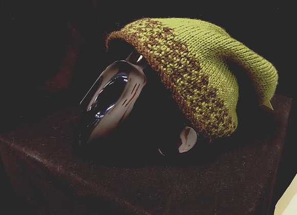 Jumbo Green&Brown Hat