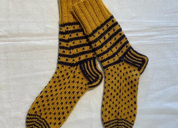 Gold Feet Socks