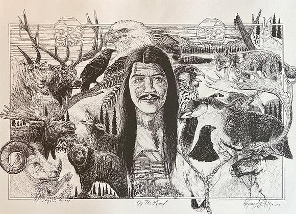 On the Land Print