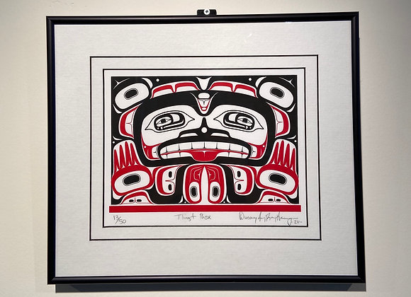 Tlingit Box Framed Print