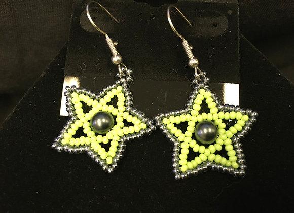 Star Beaded Earrings