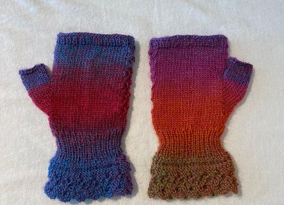 Multicoloured Keyboard Gloves