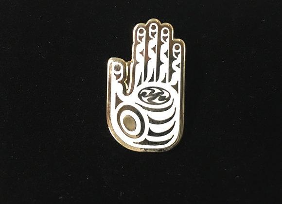 Healing Hand Enamel Pin