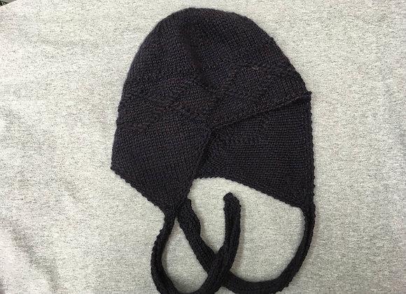 Purple Diamond Flap Hat