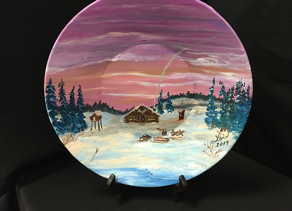 10 Inch Painted Plates