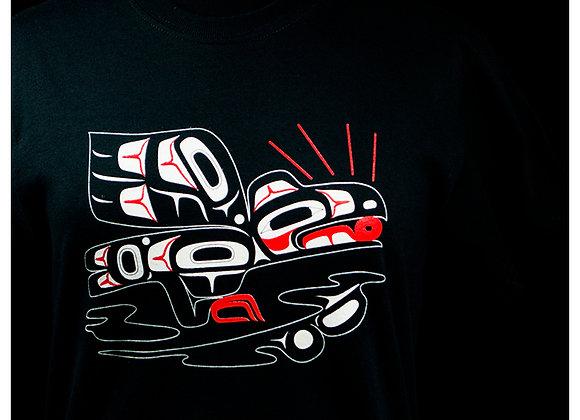 Raven & Sun Black T-Shirts