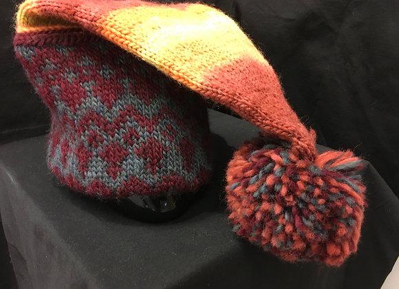 Warm Ears Hat, Earth tones