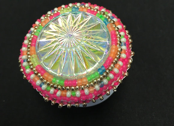 Beaded Pink Pop Socket