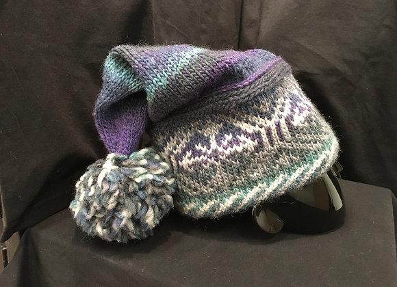 Warm Ears Hat, Purple