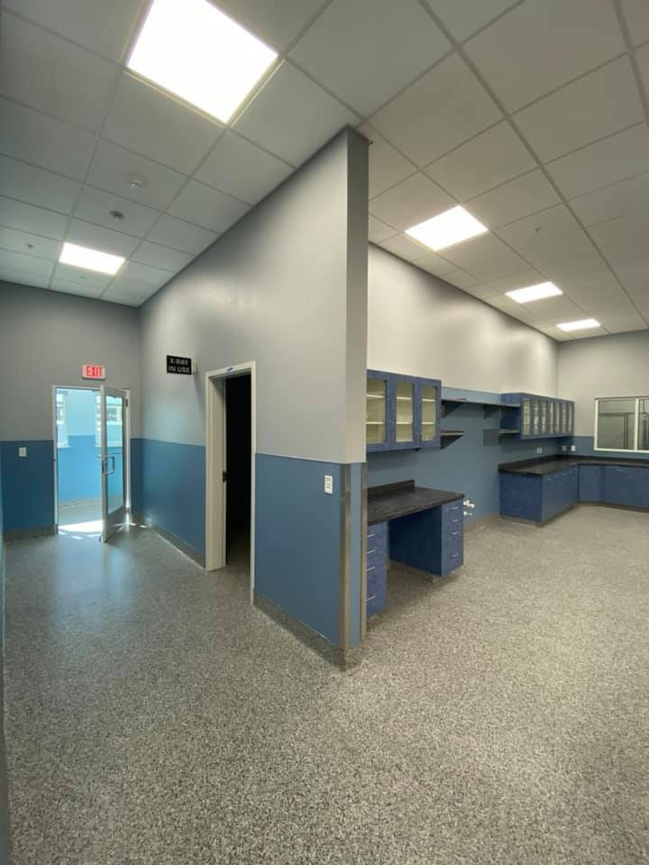 Interior Bishop Animal Shelter
