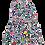 Thumbnail: Vestido estampado B.NOSY (Y003-5855)