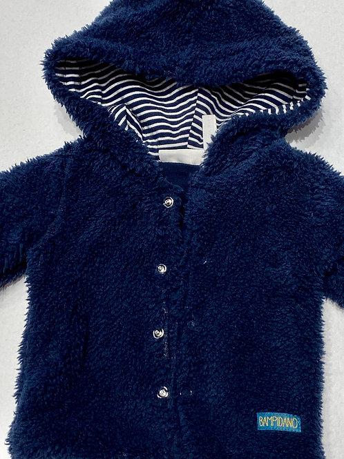 Abrigo Bebe Azul Pelo (007-0230)