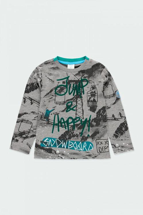 Camiseta snow gris BOBOLI (513043)