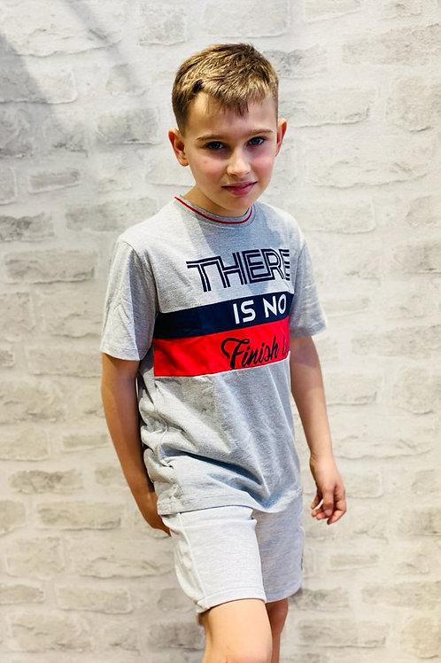 "Camiseta ""there is no finish line"" MILON (11822)"