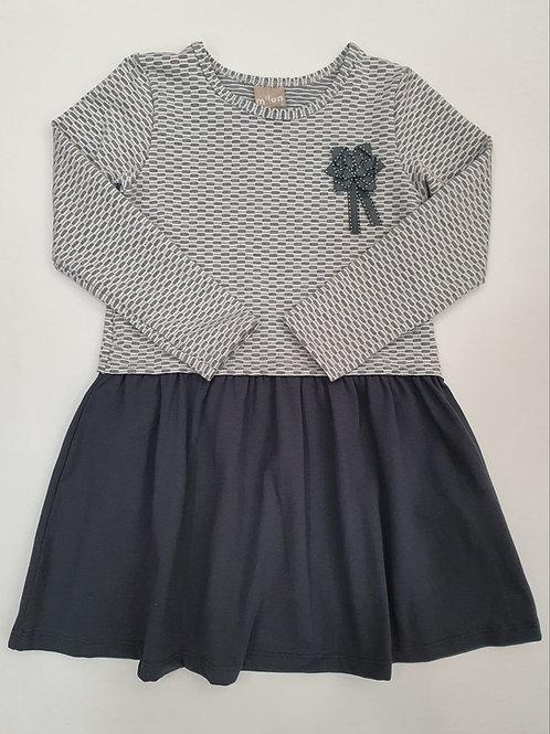 "Vestido ""Shine"" gris (11397)"