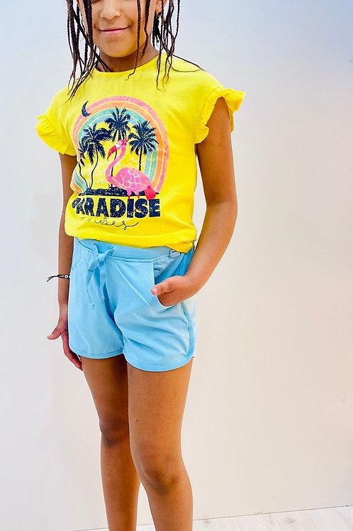 Camiseta de niña punto BOBOLI (422132)