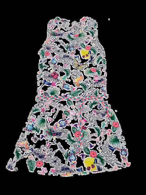 Vestido estampado B.NOSY (Y003-5855)
