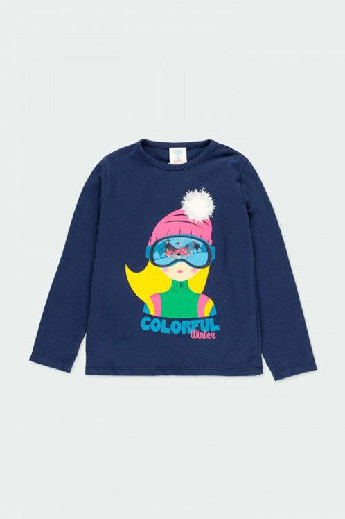 Camiseta esquiadora BOBOLI (403063)