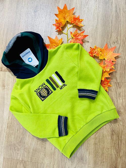 Sudadera verde niño MAYORAL (4403)