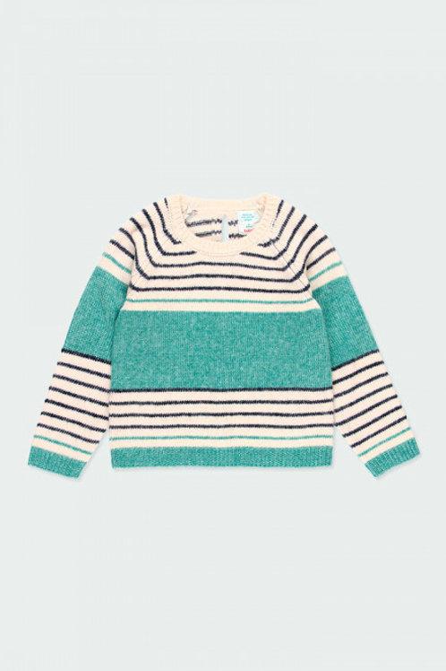 Jersey tricotosa listado BOBOLI (453125)