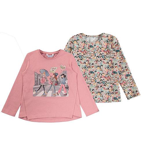 Set 2 camisetas niña MAYORAL (4010)