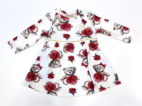 """Vestido """"Oso-Rosa"""" (12100)"""