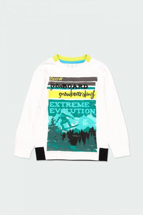 Camiseta snow BOBOLI (513021)
