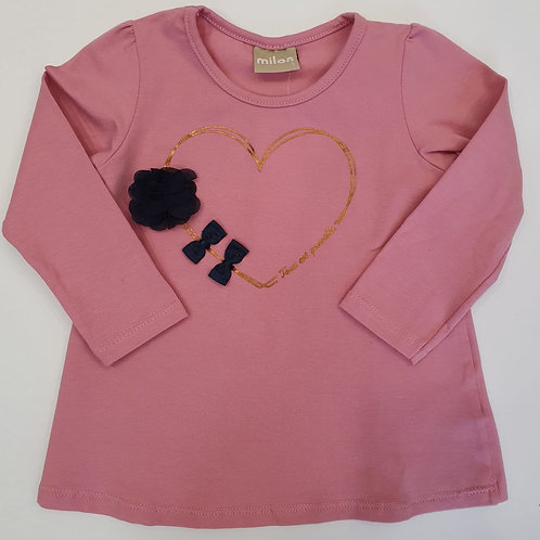 "Camiseta ""Gold Heart"" (11345)"