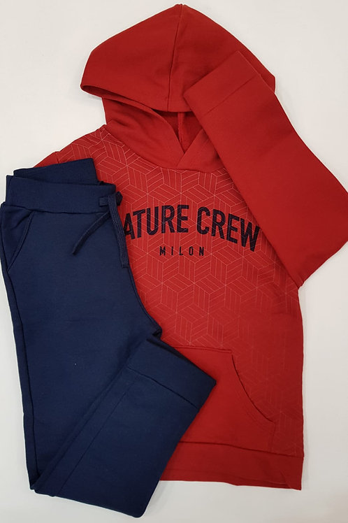 "Conjunto ""Nature Crew"" granate (11467)"