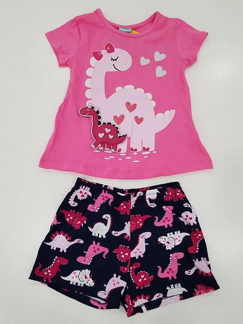 Pijama dinosaurios rosas KYLY (110329)