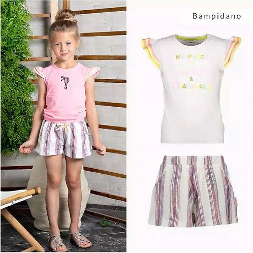Short rayas niña BAMPIDANO (A003-5662)