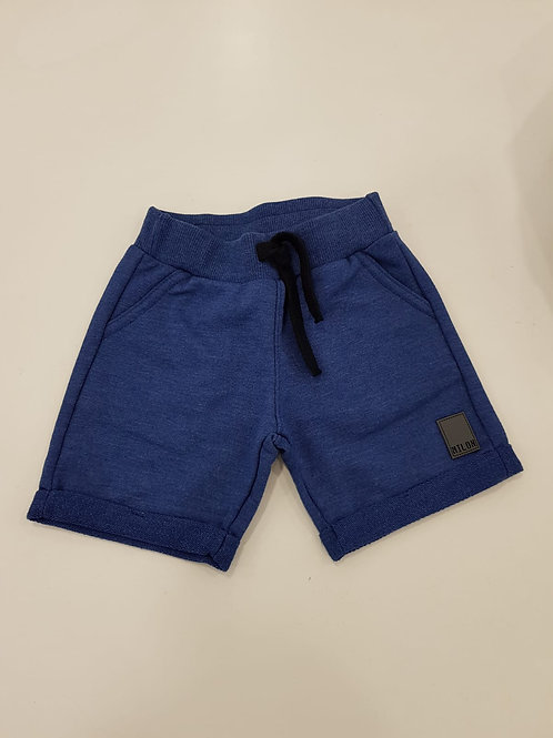 Bermuda algodón azul/gris MILON (10238)