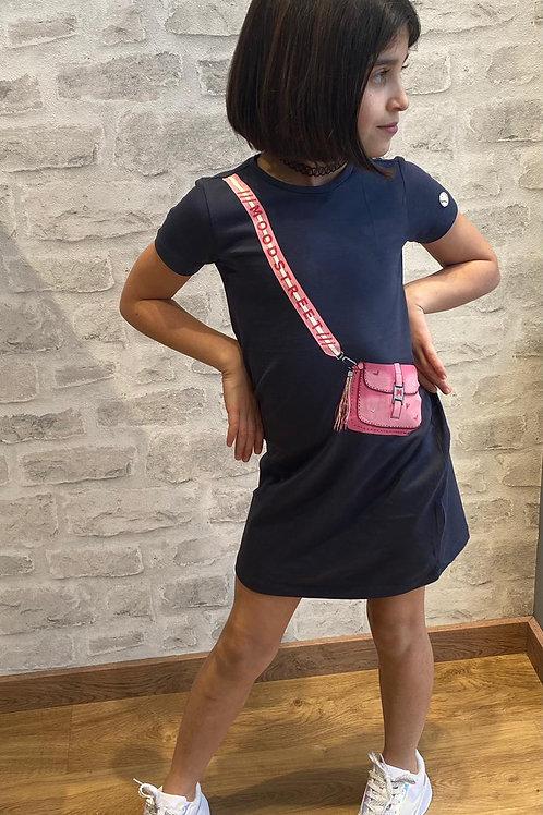 Vestido Bolso Estampado (M012-5842)