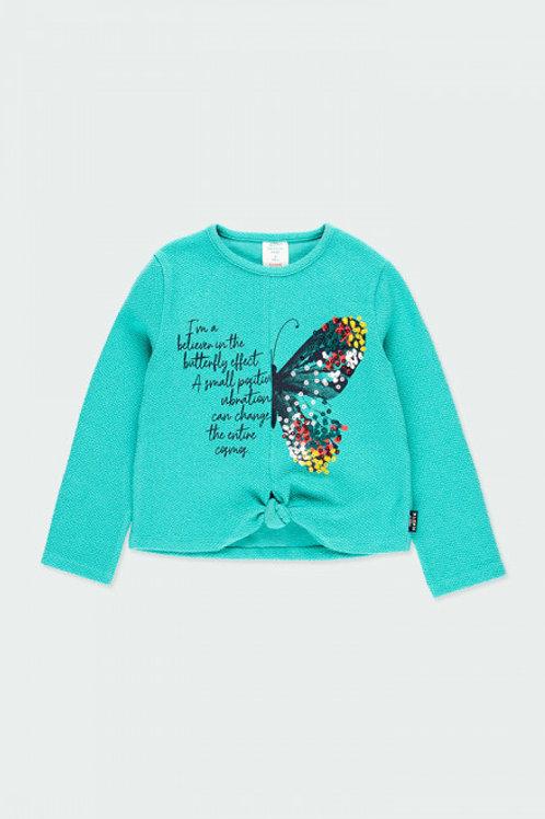 Camiseta mariposa BOBOLI (453068)