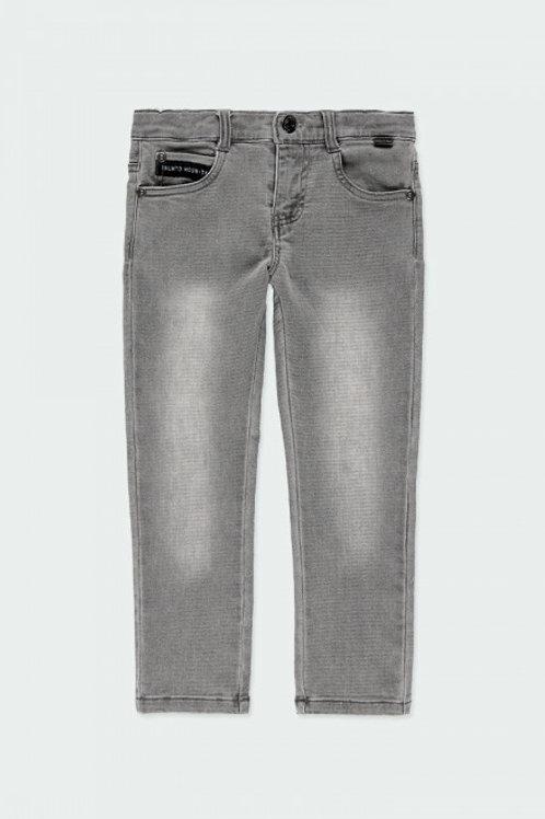 Pantalón denim gris BOBOLI (513032)