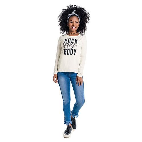 "Camiseta ""Rock You Body"" (51088)"