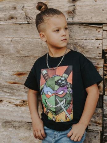 Camiseta unisex tortuga ninja KPLAY (210001)