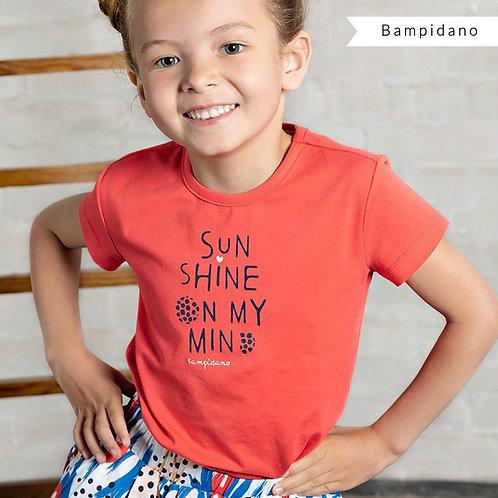"""Camiseta """"SunShine"""" de BAMPIDANO (A002-5443)"""