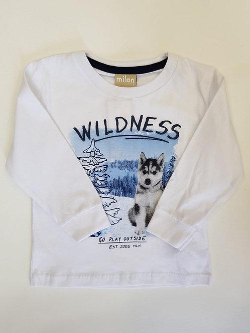 """Camiseta """"Wildness"""" (11435)"""