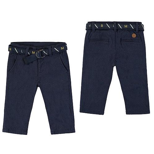 Pantalón piqué cinturón MAYORAL (2535)