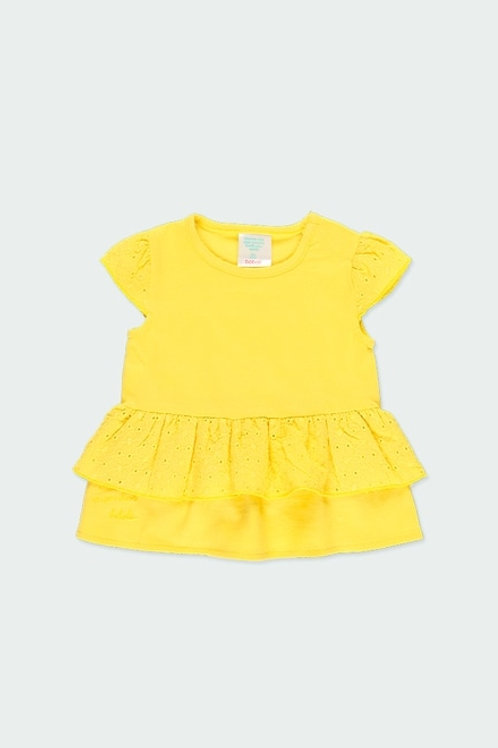 Camiseta Punto Amarilla BOBOLI (202093)