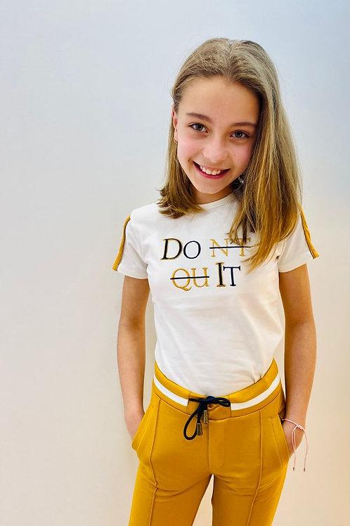 """Camiseta """"Don't Quit"""" (Q103-3406)"""