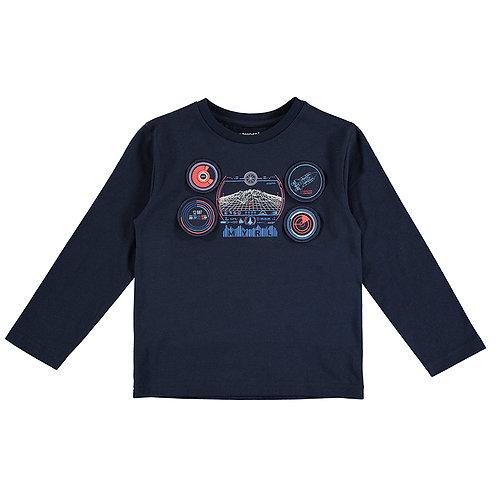 Camiseta negra play MAYORAL (4090)