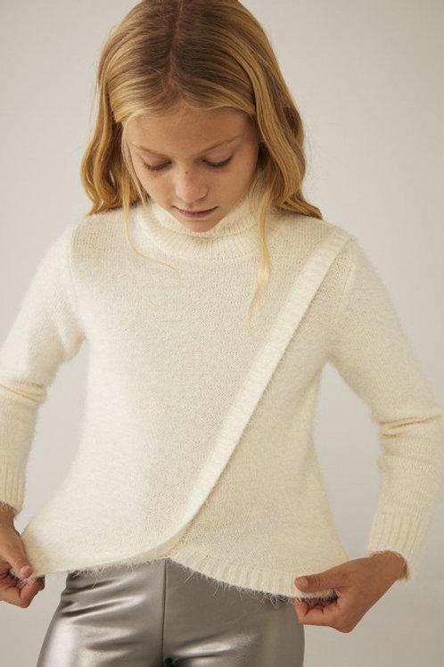 Jersey tricotosa blanco BOBOLI (443236)