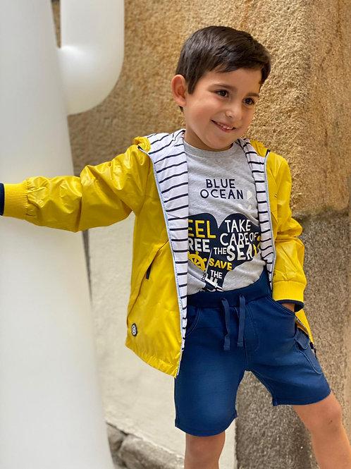"""Camiseta de algodon """"ballena"""" de BOBOLI (302061)"""